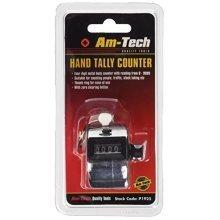 Hand Tally Counter - 4 Digit Amtech Clicker Chrome Doorman P1925 Golf Security -  4 digit hand tally counter amtech clicker chrome doorman p1925 golf