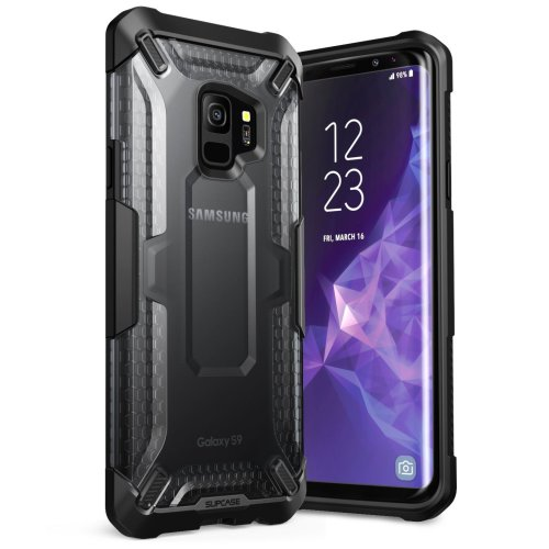 best sneakers 3bd5e a0583 SUPCASE Galaxy S9 Case, Unicorn Beetle Series Premium Hybrid Protective  Clear Case Without Screen Protector for Samsung Galaxy S9 2018 Release,...
