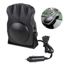 Mini Car Vehicle Fan Warmer Heating Heater Window Defroster Demister
