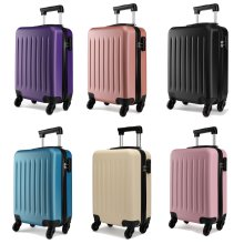 KONO Hard Shell Spinner Cabin Suitcase | Universal Cabin Case