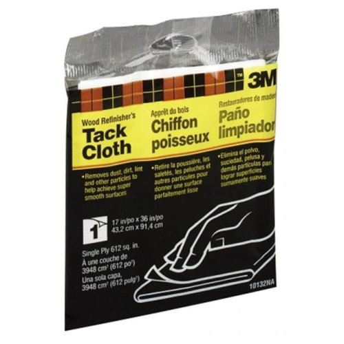 "3m 10132NA 17"" x 36"" Tack Cloth - Single Ply"