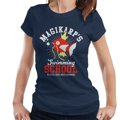 Magikarps Swimming School Pokemon Women's T-Shirt