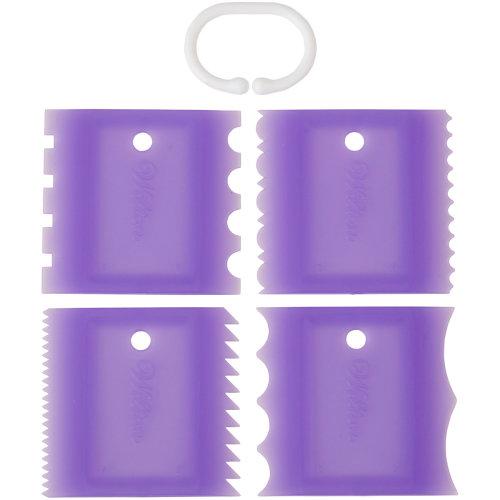Texture Tool Combs-4/Pkg