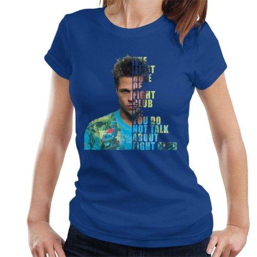 Fight Club Tyler Durden Half Head Women's T-Shirt