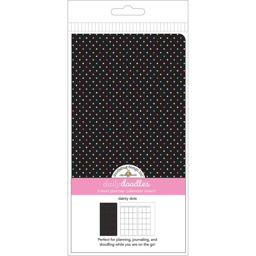 Doodlebug Planner Inserts-Dainty Dots Daily Doodles Calendar