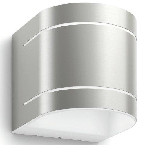 Philips myGarden LED Wall Light Sunset 2x4.5 W Silver 172954716