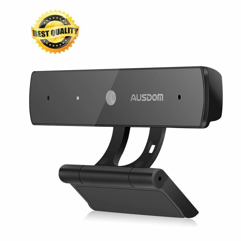 AUSDOM Webcam 1080P, Full HD Web Cam PC Computer USB Mini Camera with  Microphone for Laptop Desktop Notebook, Skype Facetime Online Chatting...