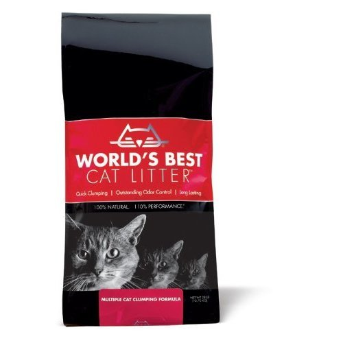 Worlds Best Cat Litter Bag Multiple Cat Clumping Formula 12.7kg