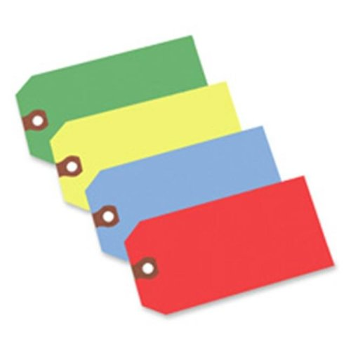 Avery Consumer Products AVE12325 Shipping Tag- No 5- Plain- 4-.75in.x2-.38in.- Yellow