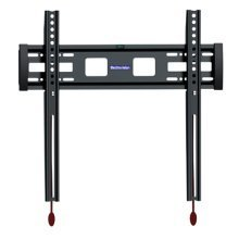 Low Profile Fixed TV Mounting Bracket with Smart Locking Design For Screens 26 - 55