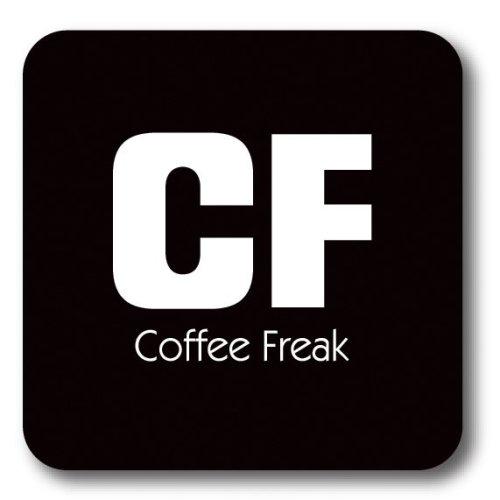 CF - Coffee Freak Coaster
