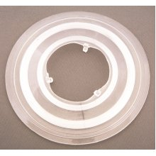 """CLEAR SPOKE PROTECTOR (Most Bicycle wheels or hubs) 5 1/2"""" 135mm Diameter New"""