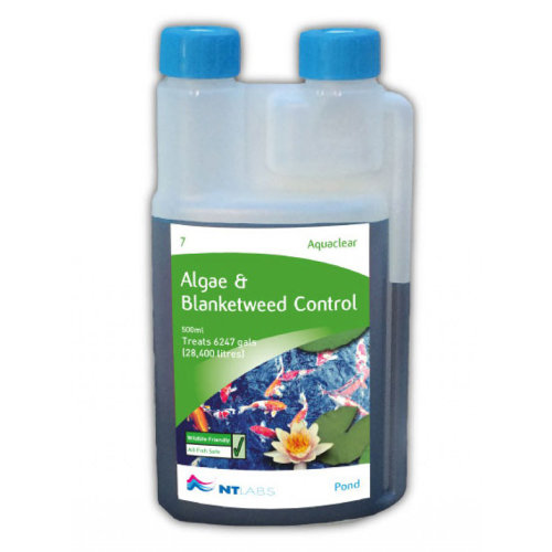 NT Labs Pond Aid Aquaclear Algae and Blanketweed Control 500ml