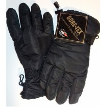 GORE-TEX PADDED SKI GLOVES. GUARANTEED TO KEEP YOUR HANDS DRY.
