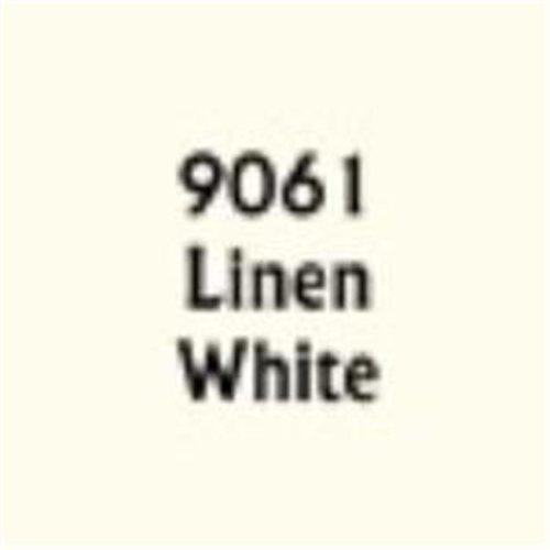 Reaper Miniatures REM09061 0.5 oz Master Series Paint Dropper Bottle, Linen White