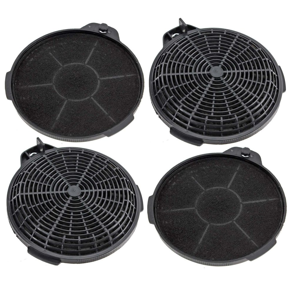 Spares2go Carbon Charcoal Vent Filter For Cooke Lewis Extractor Cooker Hood Pack Of 4