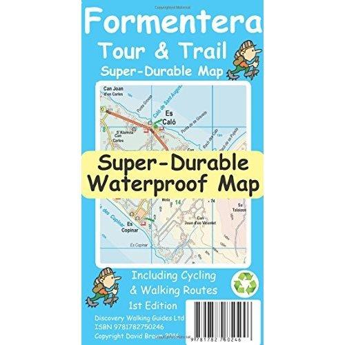 Formentera Tour & Trail Super-Durable Map