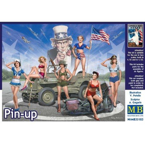 Mas35183 - Masterbox 1:35 - Pin-up
