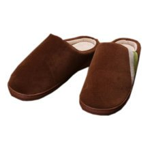 Cozy  & Warm  Indoor Plush House Slipper For Men, Brown