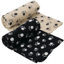Extra Large Soft Cosy Warm Fleece Pet Dog Cat Animal Blanket Throw 140 X 100cm