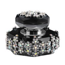 Car Perfume Crystal Car Air Freshener Perfume Bottle for Car Creative [Black-3]