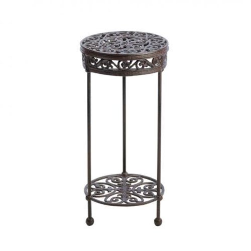 Home Locomotion  Round Plant Stand