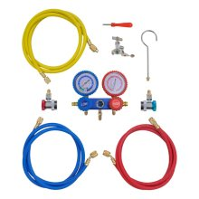2-way Manifold Gauge Set in Tool Kit