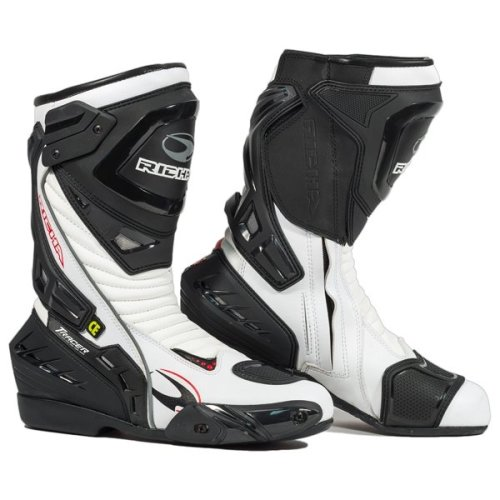 Richa Tracer Evo White Motorcycle Boots