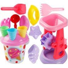 Kid's Beach Sand Toys Baths Pools Set 14PCS
