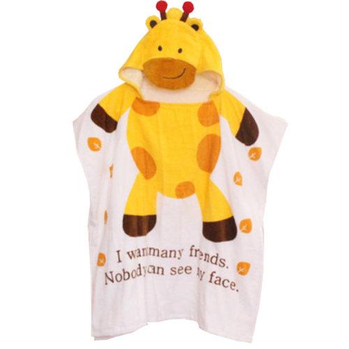 Cute Baby Towel/ Bath Towel/Baby-Washcloths/BABY bathrobe,Giraffe