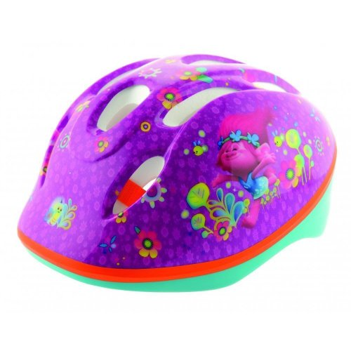 bd26204157f Trolls Kids Safety Bike Cycling Helmet Girls for Biking Scooter Skating 48-54cm  on OnBuy