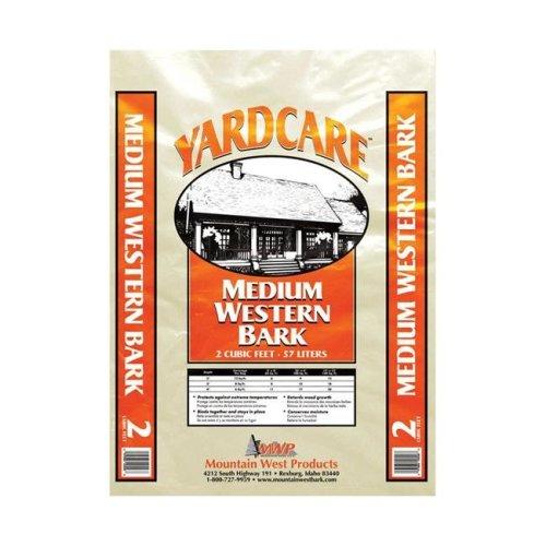 Mountain West 7509490 2 cu ft. Yardcare Medium Western Bark Mulch  Natural