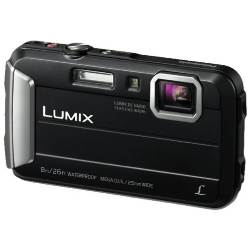 "Panasonic Lumix DMC-FT30 16.1MP 1/2.33"" CCD 4608 x 3456pixels Black"