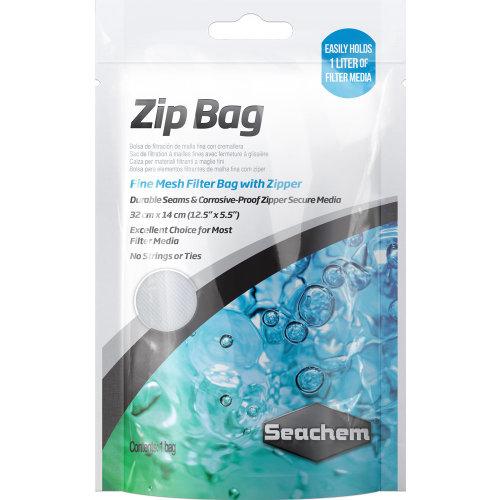 "Seachem Zip Media Bag (12.5""x5.5"")"
