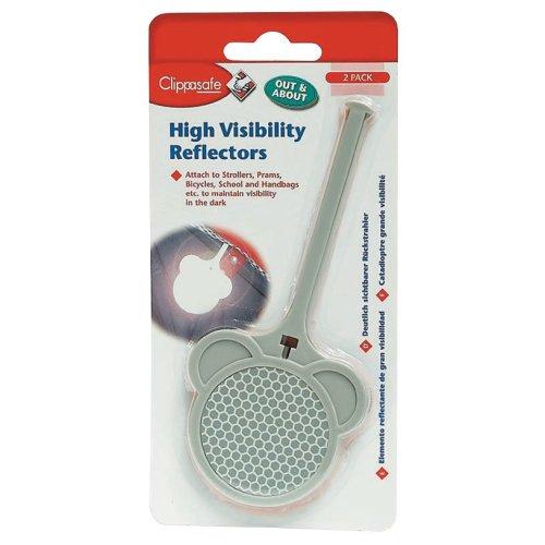 Clippasafe High Visibility Reflectors (2 Pack)