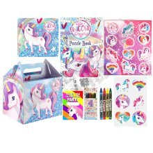 Pre-Filled Unicorn Party Favour Box | Kids' Unicorn Party Gift Box