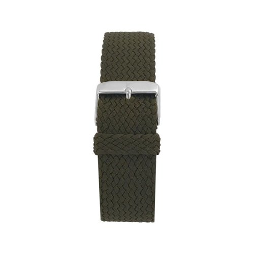 Wallace Hume Army Green Men's Perlon Watch Strap