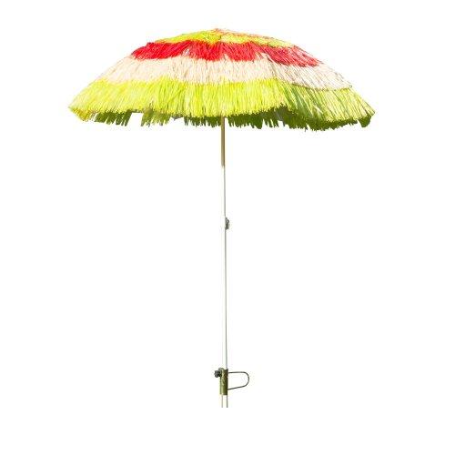 Outsunny Garden Hawaii Umbrella Folding Parasol
