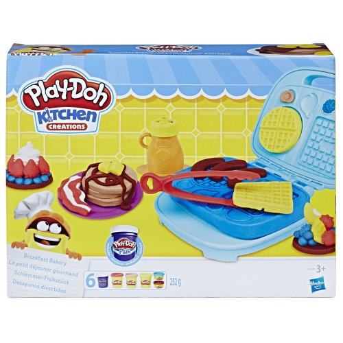 Play-Doh B9739EU4 Kitchen Creations Breakfast Bakery Set