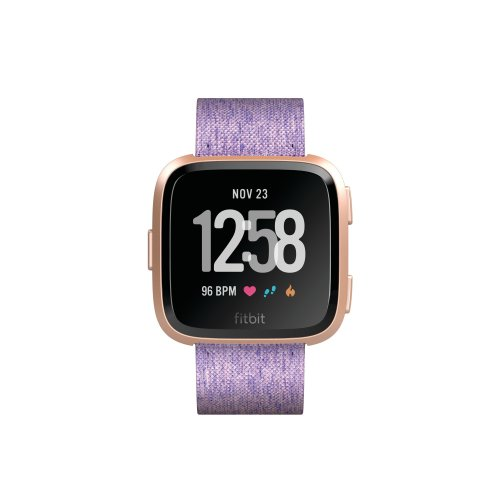 Fitbit Versa Special Edition Health and Fitness Smartwatch, Lavender, One Size