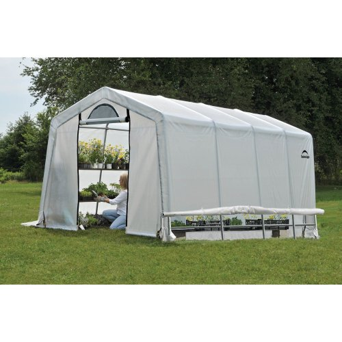 10x20 Shelter Logic Greenhouse in a box