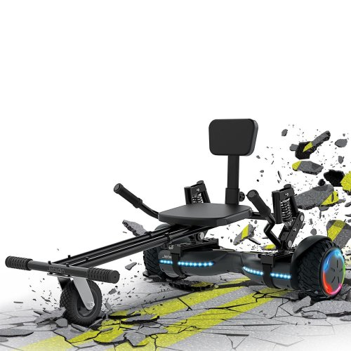 Jetson Extreme Terrain Z12 Galaxy Hoverboard and JetKart Combo