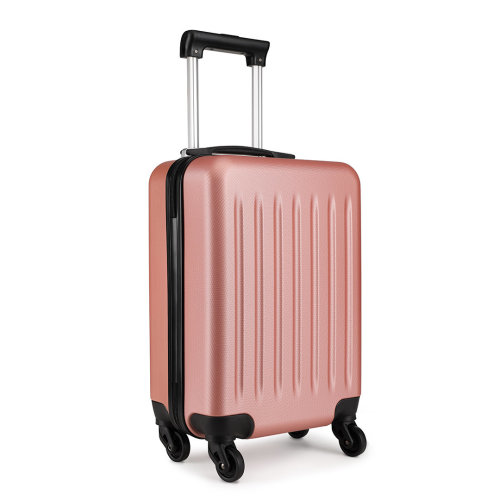 KONO Ryanair Easyjet Cabin Approved Luggage Suitcase - Nude
