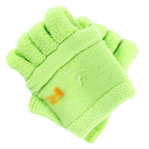 Thicken Toe Yoga Socks Soft Massage Green Redress Socks