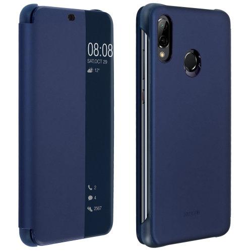 Official Huawei Smart View flip case for Huawei P20 Lite - Dark blue