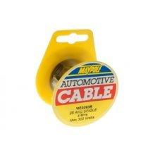 4m Mini Black Single Reel Cable 1x 2mm ² 17amp - ² Maypole Mp3093b Towing - 4m Mini Reel Single Black Cable 1x 2mm² 17amp Maypole Mp3093b Towing