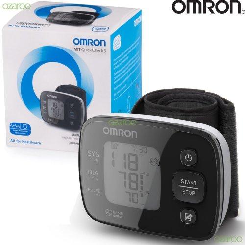 Omron MIT Quick Check 3 Wrist Blood Pressure Monitor Detect Irregular Heartbeat