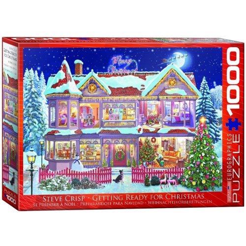 Eg60000973 - Eurographics Puzzle 1000 Pc - Getting Ready Fof Christmas