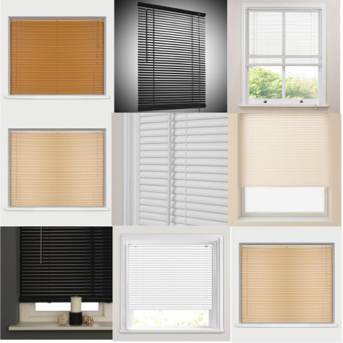 PVC Window Venetian Blinds Easy Fit All Colors & Sizes