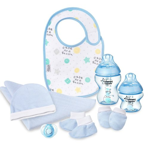 6pc Tommee Tippee Closer To Nature Gift Pack - Blue